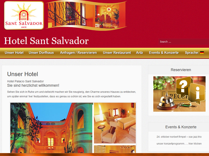 Webdesign / Website